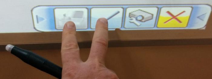 Hitachi LCD Projector Menu