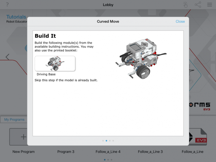 EV3 Teacher Tutorials